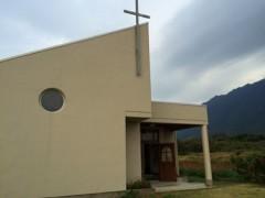 記念聖堂 - 今年のはじめ、外装ををやり直し、雨漏りも解消し、新品の聖堂に生まれ変わった。