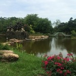 タイの公園 - 古代のタイ王国の野外博物館の一角。