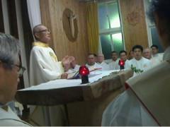 司祭大会のミサ