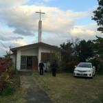 轟木教会 - 100歳近いお年寄りが二人も現役信者。小ぶりながら教会の建物も立派だが中身も立派だった。