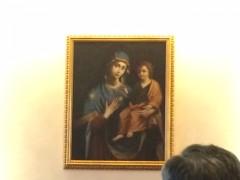 福音宣教省の壁の聖母子