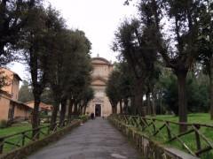 パウロ殉教の地。トレフォンタ(3つの泉を)。