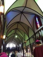 旧祭壇横からゴチック様式を激写。