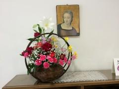 魂ゆずりの花かご