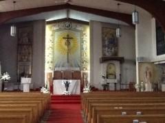 大きな教会なのに司祭不在。米国教会の凋落ぶりは深刻。