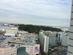 横須賀。森の向こう側には13,000人の米軍家族が住んでいる。