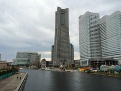 横浜といえばみなとみらい。