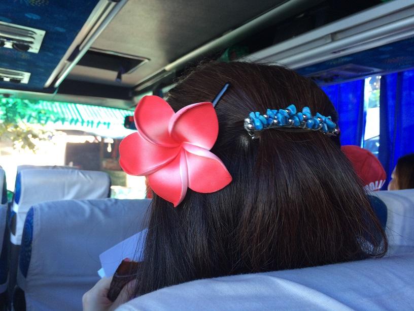 9月、バリ島でのMEアジア会議中の一日バス旅行で。