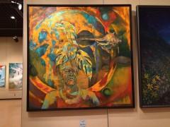 南日本美術展。黎明館