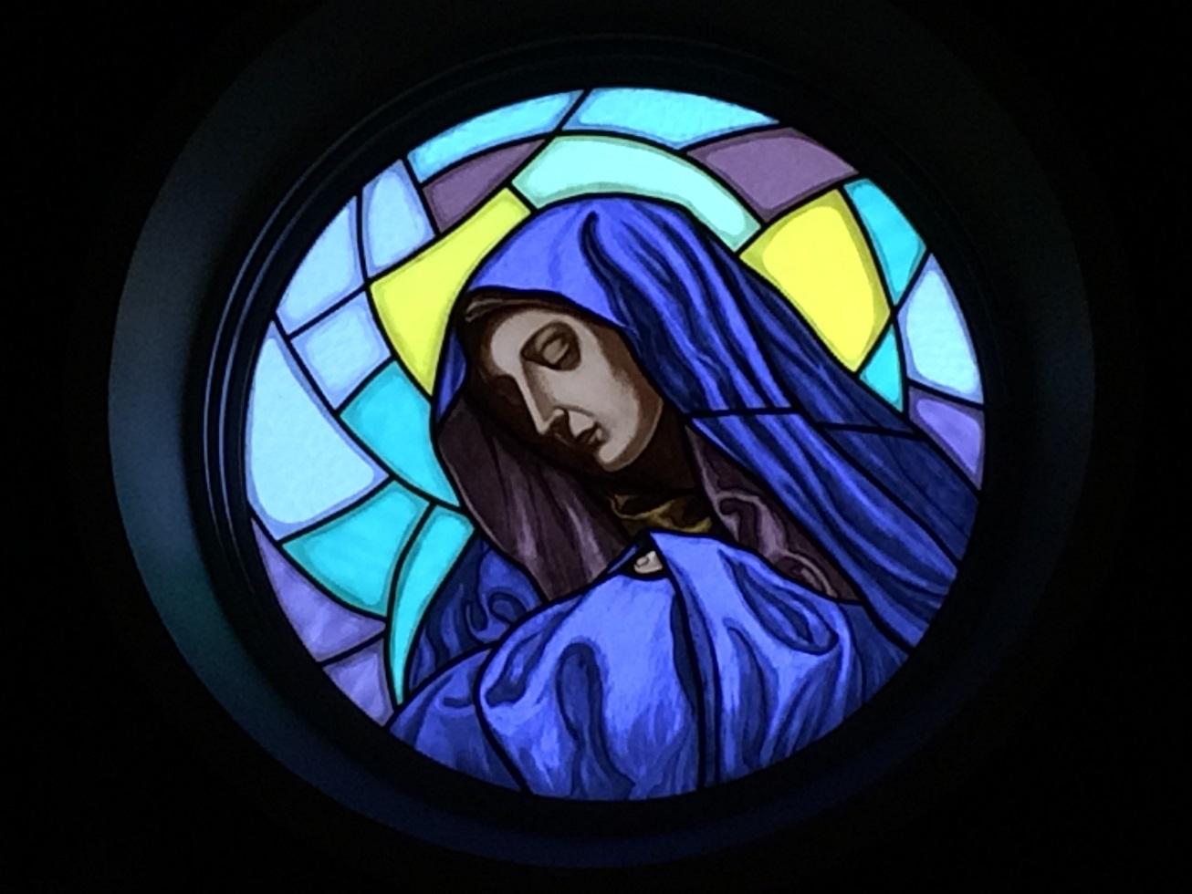 シドッチ神父さんが持参した通称親指の聖母。