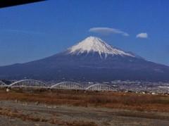 3年前の今日撮った富士山。