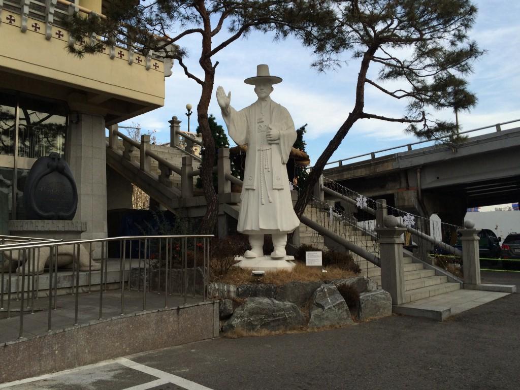 韓国初の司祭アンドレア金大建