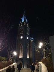 明洞大聖堂の夜景