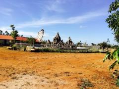 修道院建設予定地。