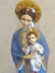 小聖堂の聖母子。