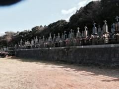 カトリック墓地全景