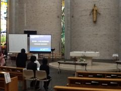 イグナチオ教会で