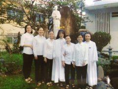 御血礼拝会ベトナム修道院創立当初の面々