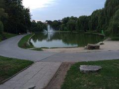 カテドラル下の公園