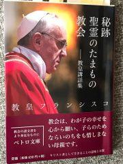 教皇講話集、是非読んでほしい。