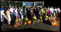 2013年のハイデラバードでの歓迎会