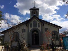 昨年完成した国分教会