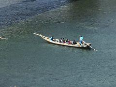 球磨川下り。国際関係も呉越同舟で行きたい。