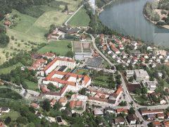 ガルス修道院全景