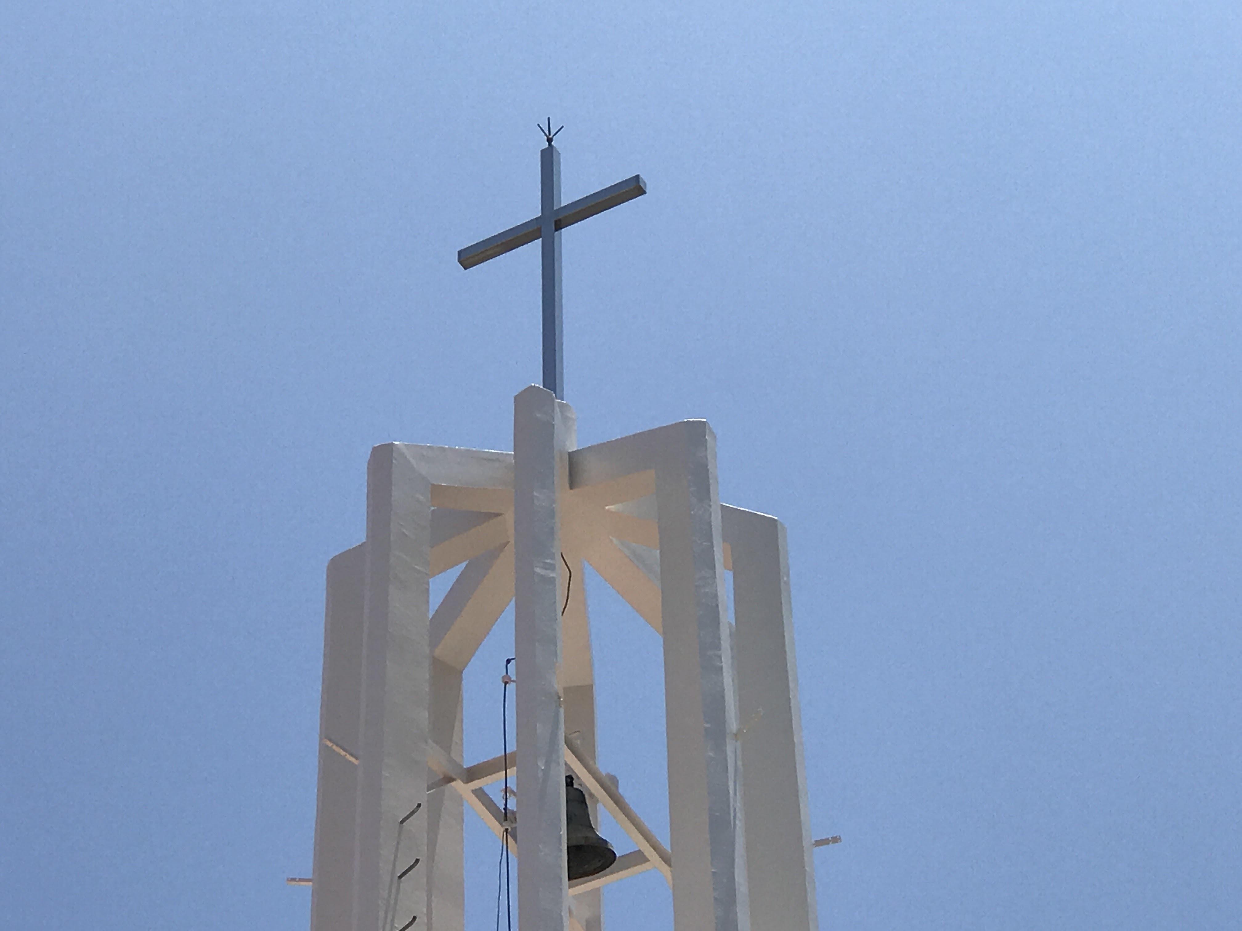 修復完了のみこころ教会鐘楼
