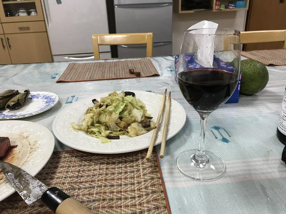 ワインと・・・