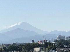 故郷都城から高千穂の峰がこんな風に見える