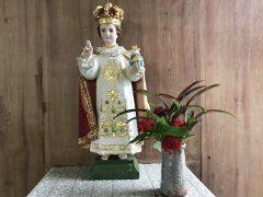 赤尾木教会は幼子イエスに捧げられている