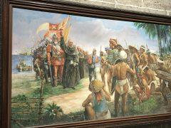 マゼランがセブ島に上陸。この紋どころ的?宣教