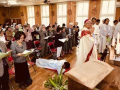 諸聖人の連願、兄弟島奄美からも多くの参加者