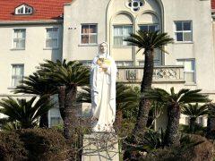 60年あまり神学生を見守ってきた聖母