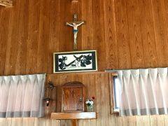 奄美大勝教会聖堂の十字架