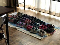 聖堂訪問は靴ならべから