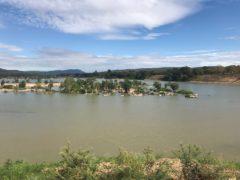 国王肝いりでできた潅漑用の湖