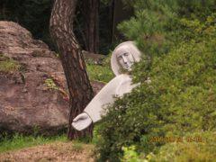 韓国黙想の家でイエス様と隠れん坊