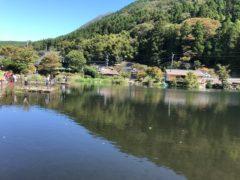湯布院由布岳麓の金鱗湖(きんりんこ)