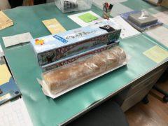 熊本から届いた巨大ケーキ