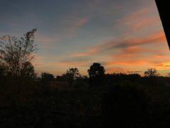 タイ東北の夜明け