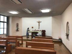 ミサ前の明光聖堂