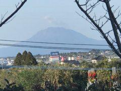 指宿市から桜島が見えた!