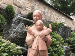 昨年9月MEアジア会議in韓国会場の聖母子像