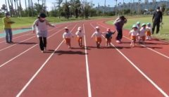 言葉もままならないこの子たちでも走ることの意味が分かっている!