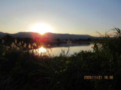 日没前の御領ヶ池