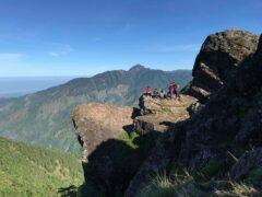 研修を終えて再度訪問したとき登った山とそっくりの光景